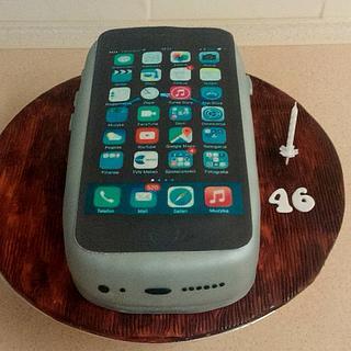 Iphone cake - Cake by KamilM