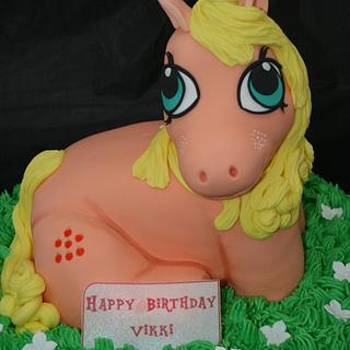 My Little Pony - Cake by Francesca's Cakes