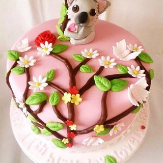 Koala Cake - Cake by BellaButterflys