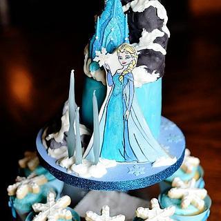 "4"" Frozen Cake"