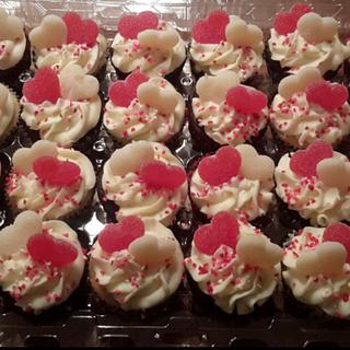 Valentine's cupcakes  - Cake by Tammi