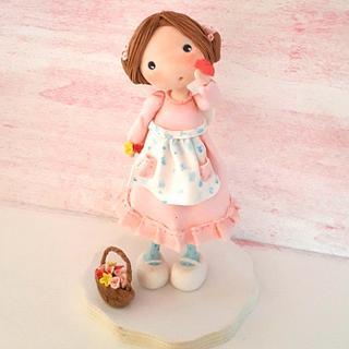 Little doll - Cake by Carmela Iadicicco (torte con brio)