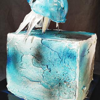 Jelly fish - Cake by antoinetteetlefouet