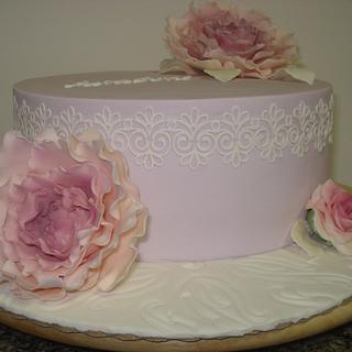 80 th anniversary - Cake by Paula Rebelo