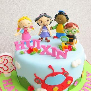 Little Eisteins - Cake by Joanne Fam