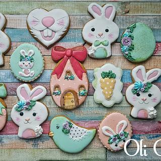 Easter Cookies  - Cake by Olivera Vlah