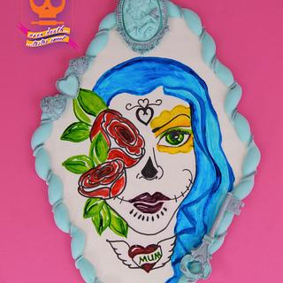 Soul Sisters ... Sugar Skull Bakers 2017 - Cake by Sharon A./Not Your Average Cupcake