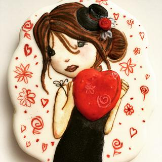 Valentine's cookie