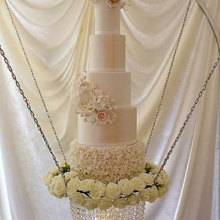 Luxury Swing Wedding Cake