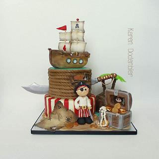 Cute Pirate cake