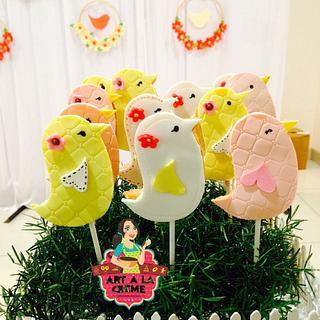 Birdie theme cookies