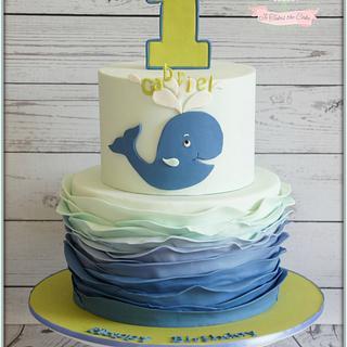 Whale (plus smash cake)