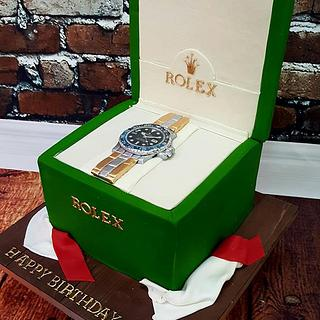 Gavin - Rolex Birthday Cake - Cake by Niamh Geraghty, Perfectionist Confectionist