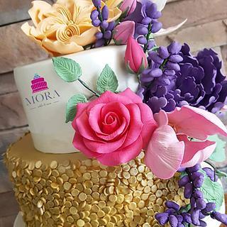 Engagement Wedding Cake