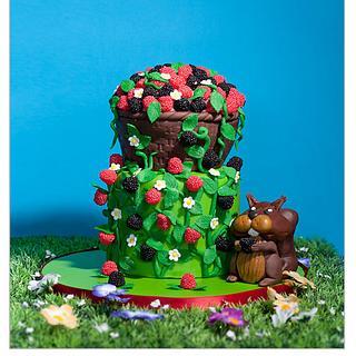 Haribo candies cake