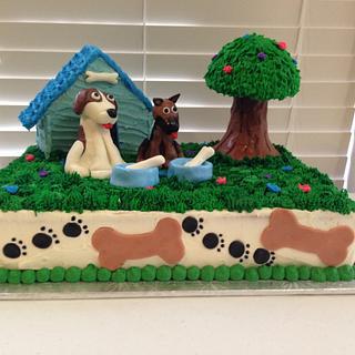 Dog lovers Cake