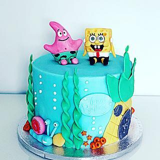 SpongeBob  - Cake by Dina's Tortenwelt