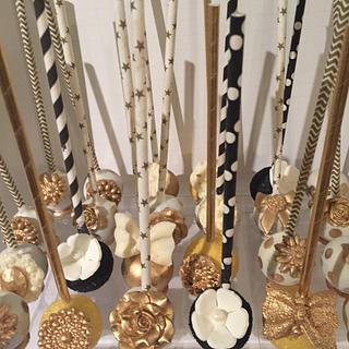 Jewelry box cakepops