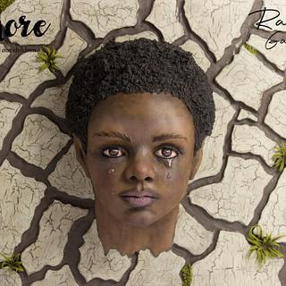 EKON (Amore- a future for our children collaboration) - Cake by Raquel García