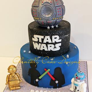 Lego Star Wars cake - Cake by Chantilly Cake Designs - Beth Aguiar