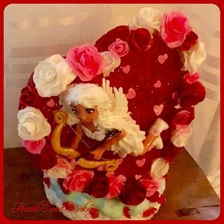 Fondant cake-topper Sweet Valentine Collaboration 2017
