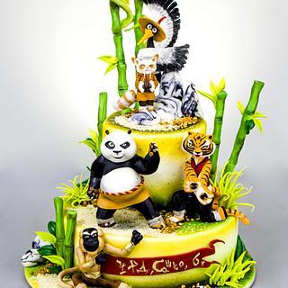 Kung Fu Panda Cake 2
