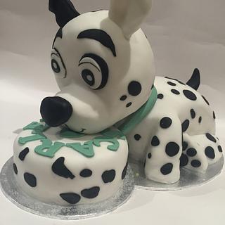 Pound puppy cake
