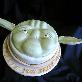 Yoda cake.
