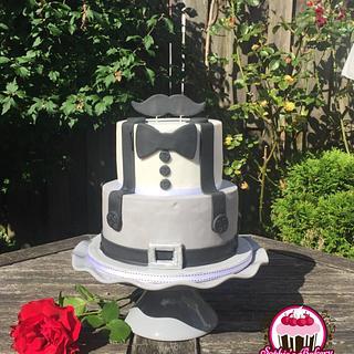 Little mans cake