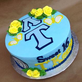 Sweet 16 Hobby Cake