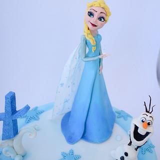 Elsa - Cake by Angela Cassano