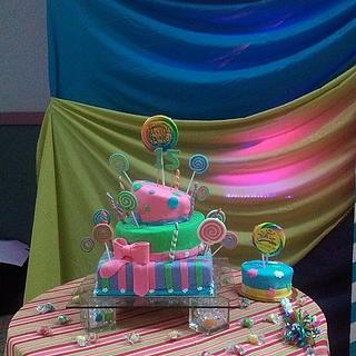 candy land cake - Cake by Your Dreaming Cake