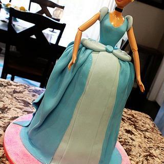 Singing Cinderella - Cake by Kendra