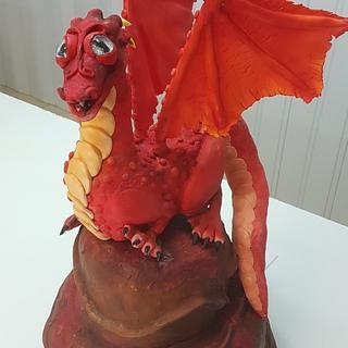 Dragon fantasía ojos de isomalt