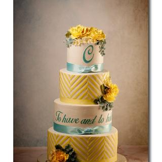 Wedding Ready - Cake by Jan Dunlevy