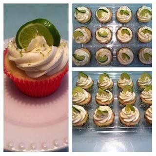 Key Lime Pie Cupcakes