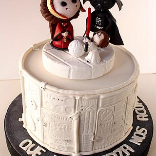 The Vaders (yet another Star Wars cake)