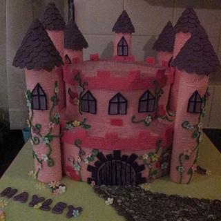 Princess Castle Cake Number 2