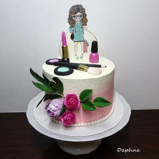 Girl's cake