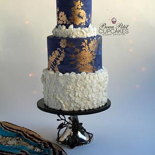 Mystical Indigo - Cake by Beau Petit Cupcakes (Candace Chand)