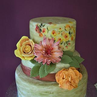 Flowers my way - Cake by Caterina Fabrizi