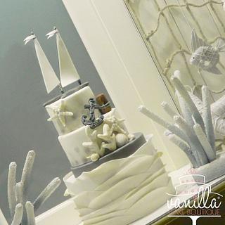 The Sea - Cake by Vanilla cake boutique
