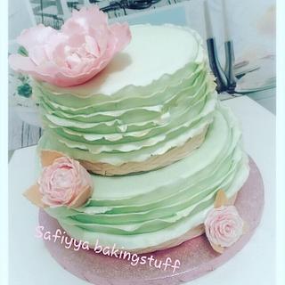 Pastelgreen romantic cakes