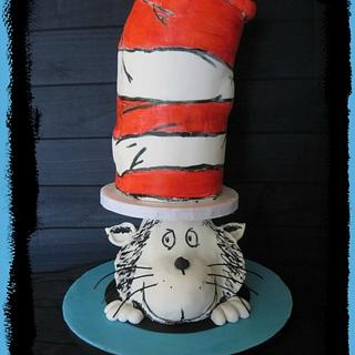"Dr Seuss Cake Collaboration ""We're all a little Seussy"""