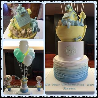 Noah's ark cake  - Cake by The Cakery cakes by Gráinne Holland