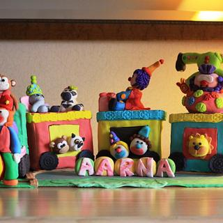 The Train Cake