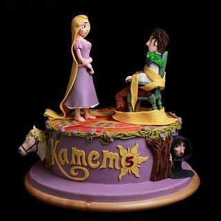 Rapunzel cake - Cake by Lili Brankova
