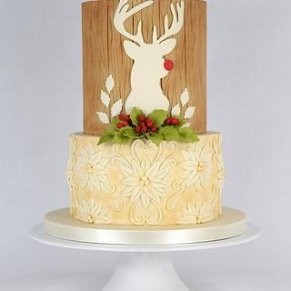Rudolph's Christmas Cake