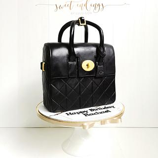 Mulberry Mini Cara Delevingne Bag in Black Quilted Lamb Nappa
