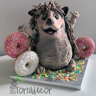Happy Hedgehog - Cake by Agnes Havan-tortadecor.hu